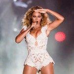 Beyoncé, diva suprema no evento (Raul Aragão  - Reprodução/Facebook Rock in Rio)