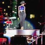 """Alicia Keys, a """"Girl on Fire"""" incendiou o festival (Reprodução/Facebook Rock in Rio)"""