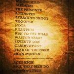 """""""Up the Irons!"""", set list do Maiden (Reprodução/Facebook Rock in Rio)"""