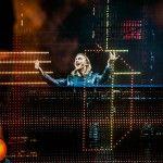 Davis Guetta comandou balada eletrônica no RIR (Mattina  - Reprodução/Facebook Rock in Rio)