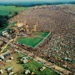 Vista aérea de Woodstock