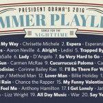Playlist noturna de Obama (Foto: Reprodução)