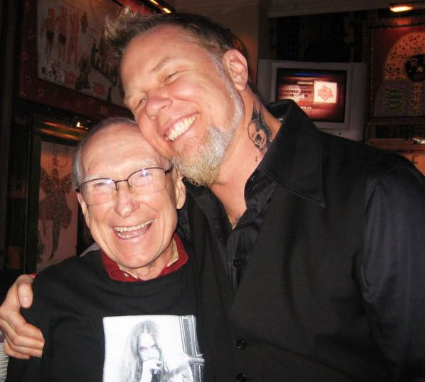 ray burton e james, do metallica