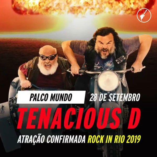 Tenacius D é atração confirmada no Rock in Rio 2019