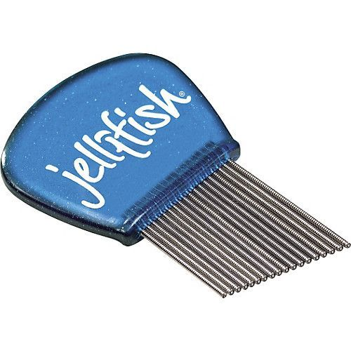 Jellifish é uma palheta cheia de fios de metal