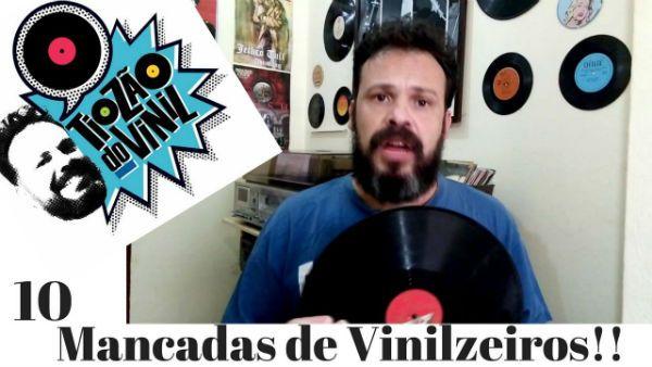 Rodrigo Marques tem um canal no YouTuber voltado para colecionadores de disco de vinil
