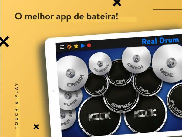 Real Drum, o aplicativo mais completo para bateristas