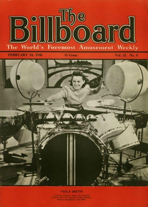 Viola Smith, na capa da Billboard
