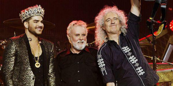 Formação atual do Queen vai pro cinema