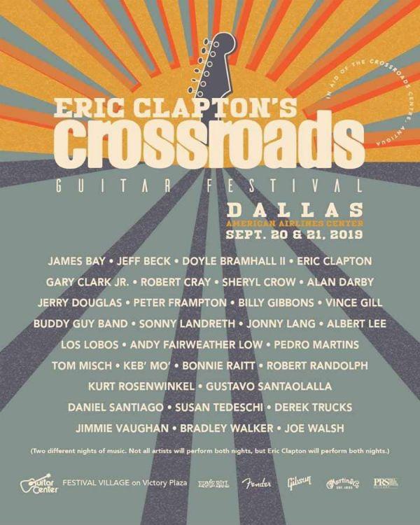 Crossroads Guitar Festival, evento beneficente de Eric Clapton
