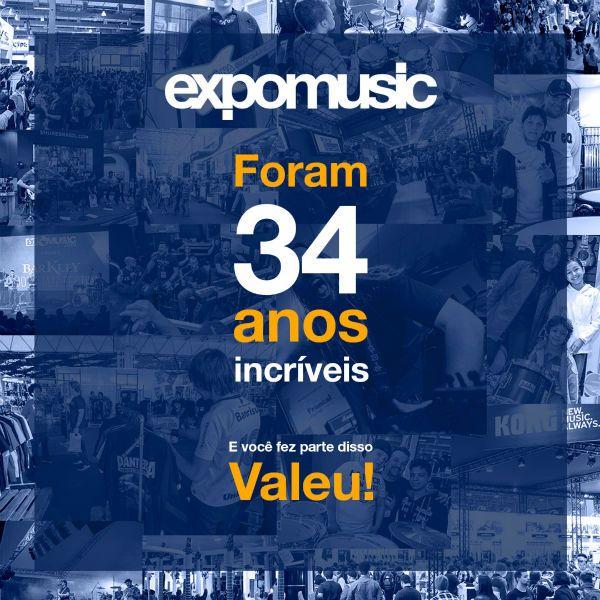 Expomusic não terá sua 35ª edição em 2019