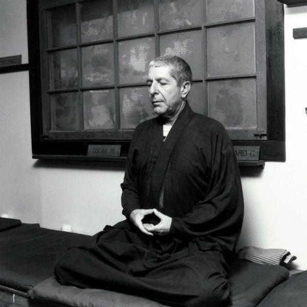 Cohen praticou budismo até o fim da vida