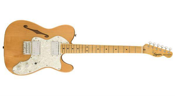 Telecaster Thinline faz parte do pacote de novidades da Fender