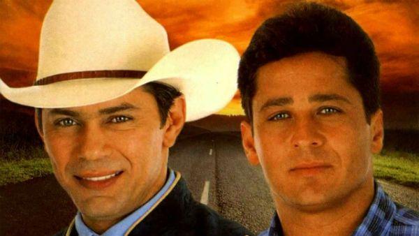 Capa do disco Um Sonhador, último da dupla Leandro e Leonardo