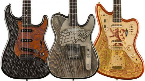 Fender lança série de guitarras inspirada em Game Of Thrones