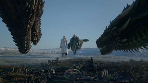 Os dragões são personagens chaves no metal e em GOT