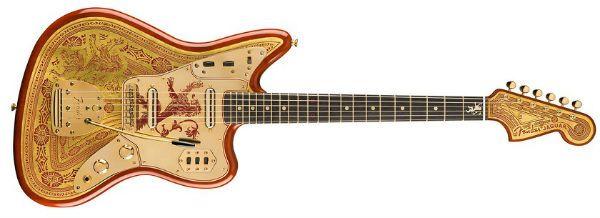 Casa Lannister serviu de inspiração para um belo modelo de guitarra Jaguar