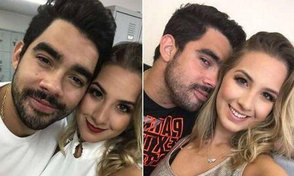 Gabriel Diniz viajou com intenção de encontrar a namorada
