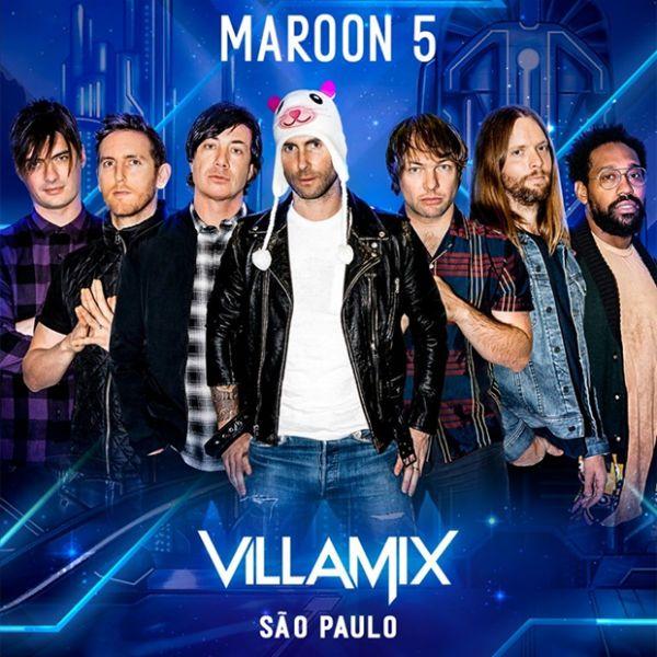 Com Maroon 5 no lineup, Villamix está a caminho com preços salgados
