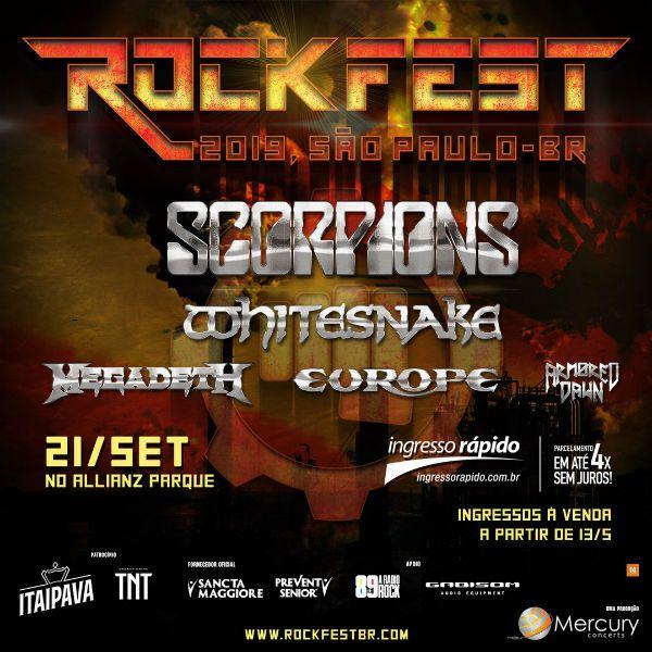 Rock Fest vai agitar roqueiros em São Paulo