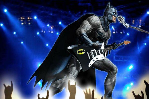 Batman é super-herói de várias habilidades, inclusive musicais