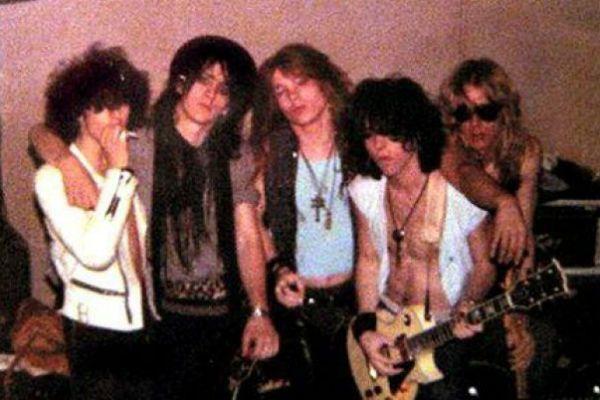 Primeira formação do Guns N' Roses
