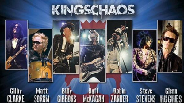 Kings of Chaos é um supergrupo de hard rock