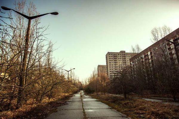 Pripyat, cidade sede da usina de Chernobyl