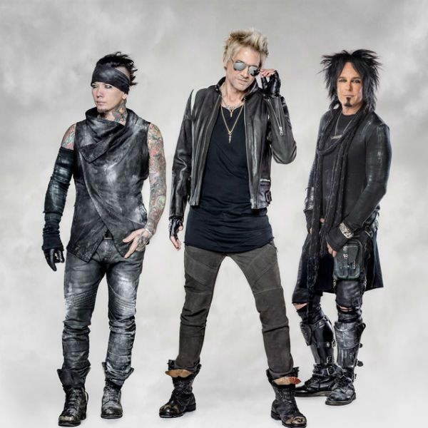 Sixx:A.M., power trio de hard rock