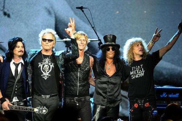 Guns N' Roses entrou pro Rock And Roll Hall Fame
