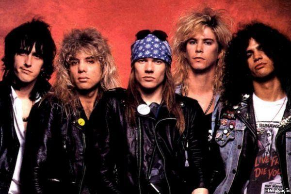 Guns N' Roses em sua formação clássica