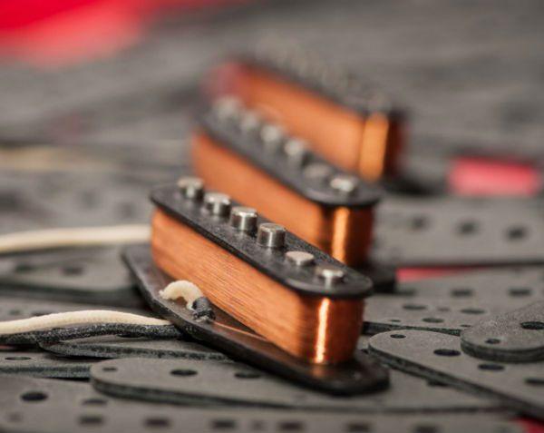 bobina de fio de cobre envolve captador passivo