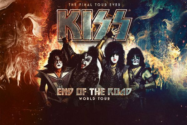 End Of The Road, do Kiss, está vindo por Brasil