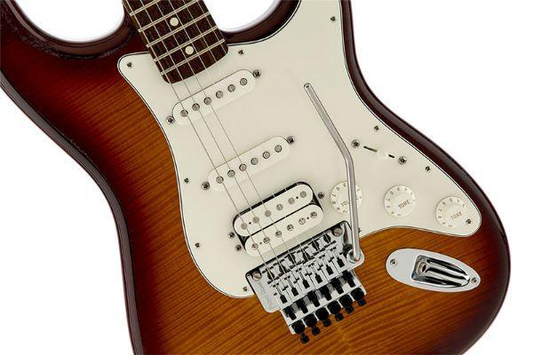 Fender stratocaster com ponte floyd rose