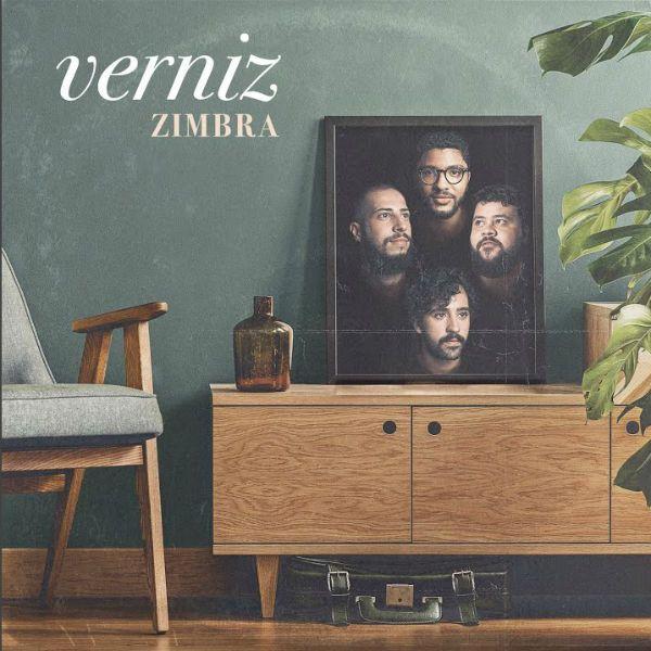 Capa do disco Verniz, novo trabalho da banda Zimbra
