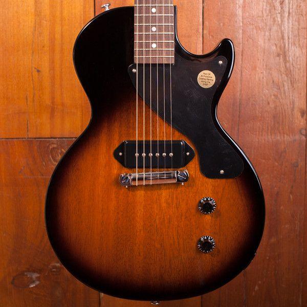 Guitarra equipada com captador P-90