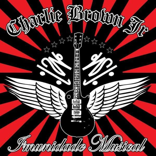 Capa do álbum Imunidade Musical, da banda Charlie Brown Jr.