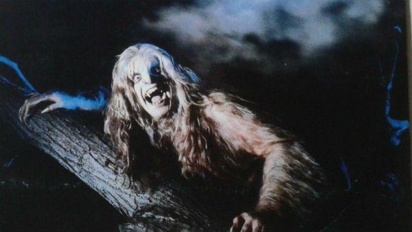 Ozzy Osborune na imagem de divulgação do disco Bark at The Moon