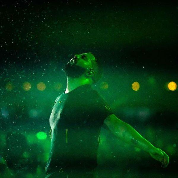 Drake fez show debaixo de chuva no Rock in Rio 2019