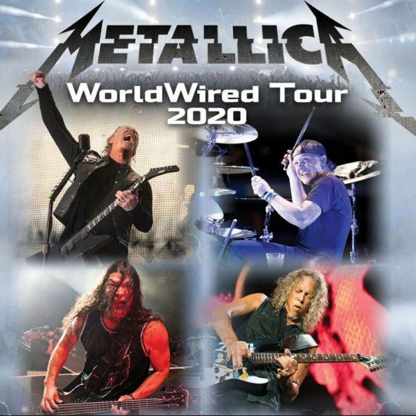 Turnê mundial do Metallica, a world wired tour, está a caminho do Brasil