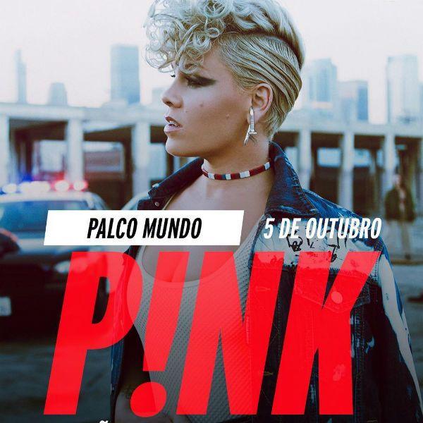 P!nk toca pela primeira vez no Rock in Rio