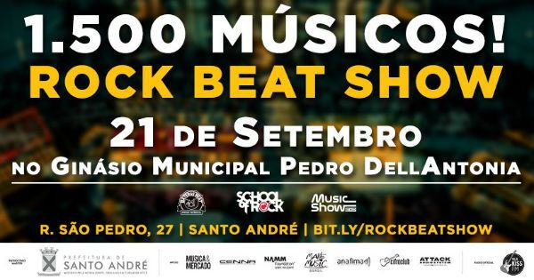 Evento vai reunir mais de 1500 músicos