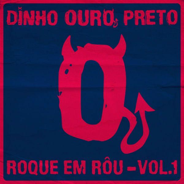 Capa do primeiro EP do novo disco solo de Dinho Ouro Preto