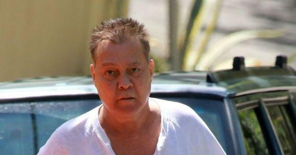 Eddie Van Halen aparece abatido e inchado em foto recente