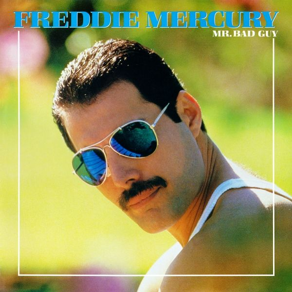 Capa do primeiro disco solo de Freddie Mercury, Mr. Bad Guy