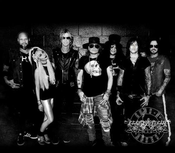 Formação atual do Guns N' Roses pode lançar um novo disco em breve