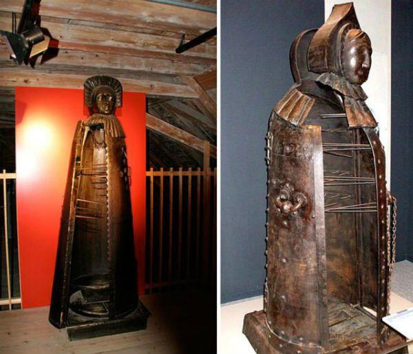 Iron Maiden era uma máquina de tortura bem cruel usada na era medieval
