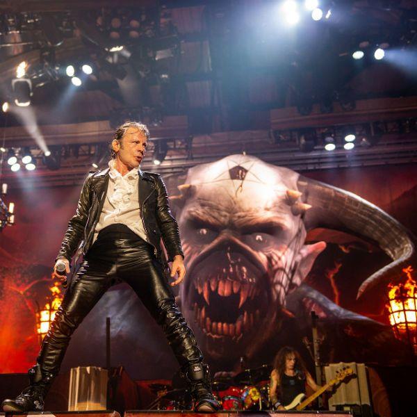Iron Maiden pediu para mudar horários no rock in Rio 2019