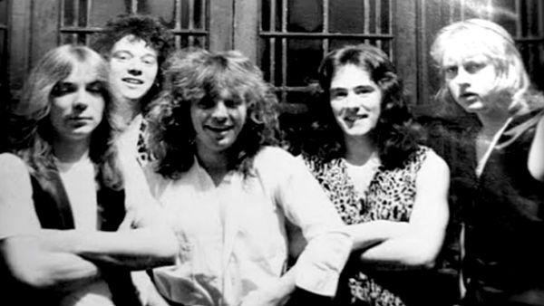 O Iron Maiden na época das gravações da Soundhouse Tapes, sua primeira demo