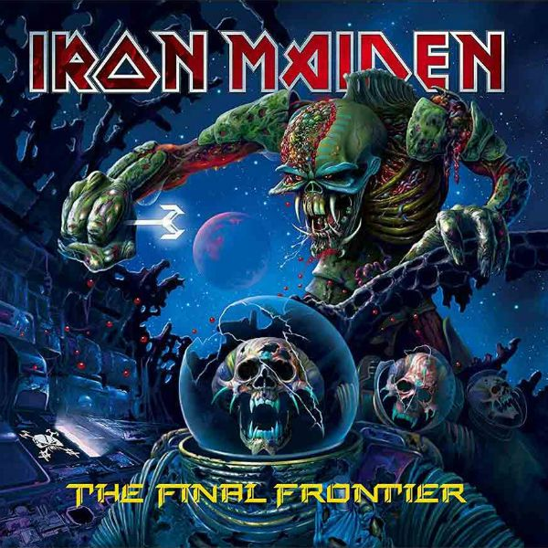 capa de the final frontier apresenta um Eddie mutante